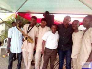 Photos: Yoruba Star Actor, Odunlade Adekola Celebrates Christmas In Abeokuta
